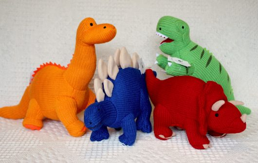 FairKind | Best Years Knitted Dinosaurs
