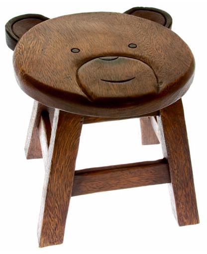 teddy bear stool