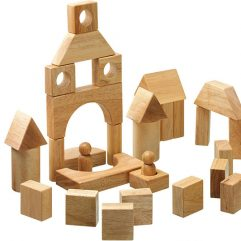 Natural Wood blocks