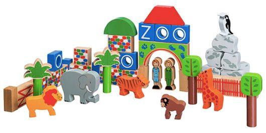 Lanka Kade Handmade Wooden Zoo Blocks