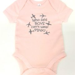 Baby Boys can wear pink Vest