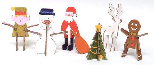 Playin Choc Christmas Characters