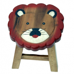 Children's Lion Stool