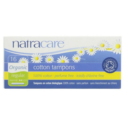 Natracare Tampon With Applicator Regular