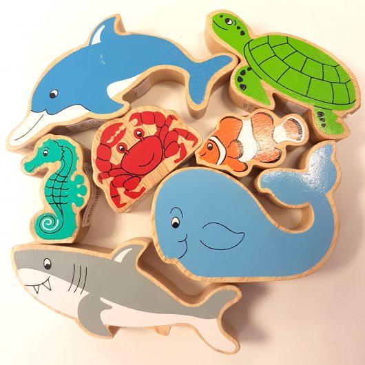 Lanka Kade Painted Aminals - Sea Creatures