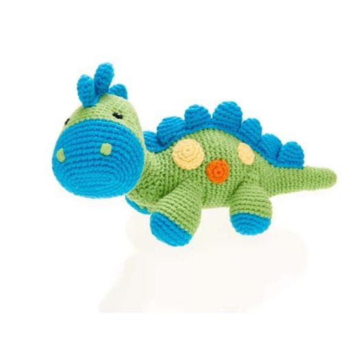 Dinosaur-rattle-Green-Blue-Steggi