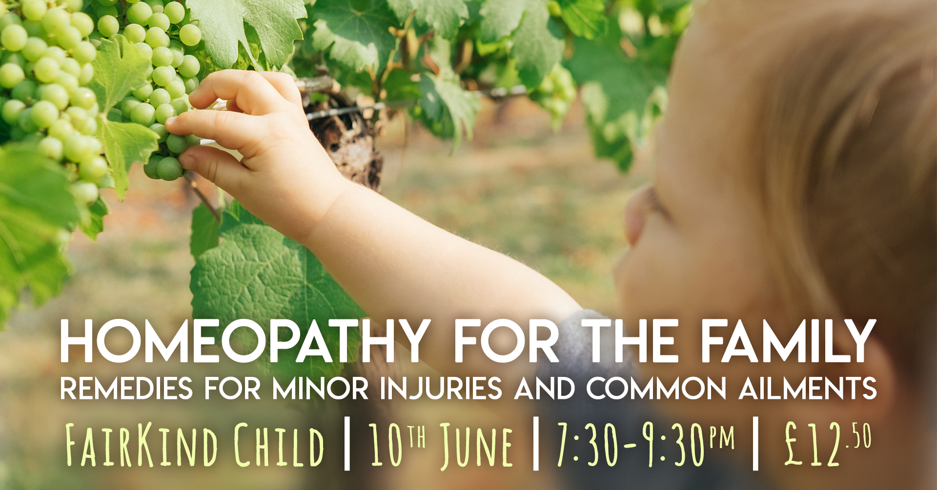 Homeopathy for the Family at FairKind Child