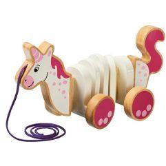 Unicorn pull along