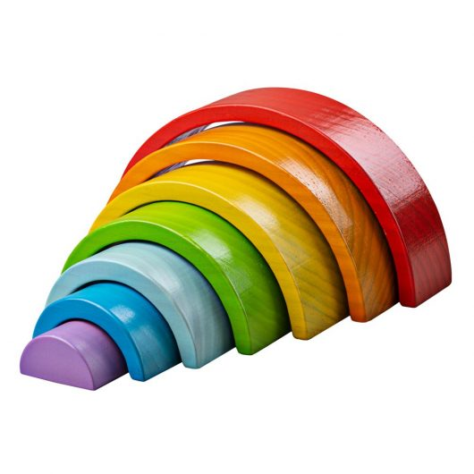 Wooden Stacking Rainbow – Small