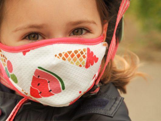 Kids Washable Face Mask Ice Cream