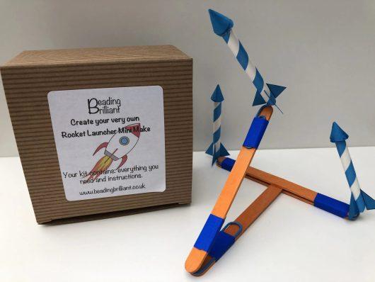 create your own rocket launcher mini make