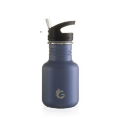350ml Stainless Steel Shark Fin Blue Classic Bottle