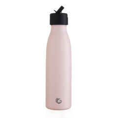 insulated bottle sport flip cap pink