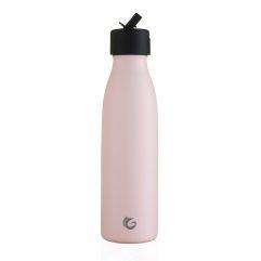 insulated bottle sport flip cap pink