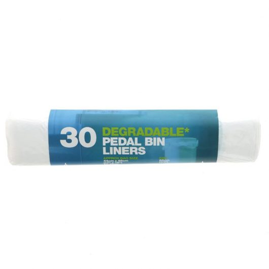 Degradable Pedal Bin Liners - 30x rolls