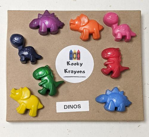 Kooky Krayons - Dinos