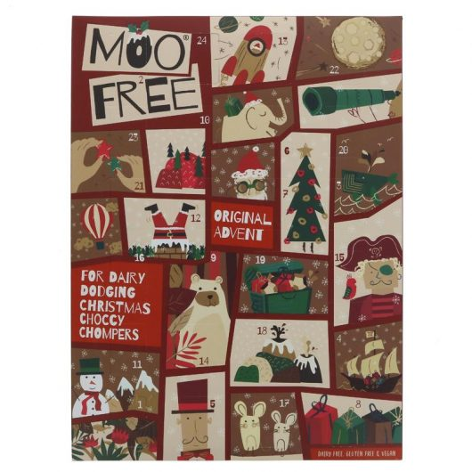 Moo Free Kids Milk Advent Calendar