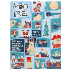 Moo Free Kids White Choc Advent