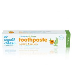 Organic Children's Toothpaste - Mandarin with Floride