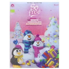 So Free White Choc Advent Calendar