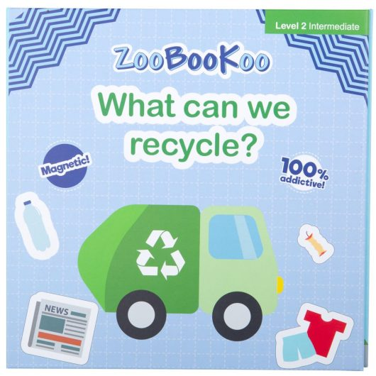 magnetic book - what can we recycle