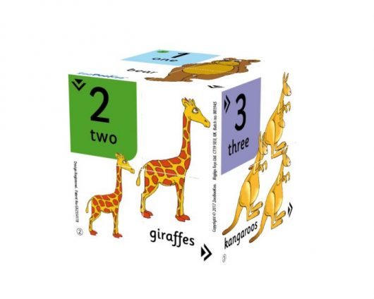 First Numbers Cube Book1