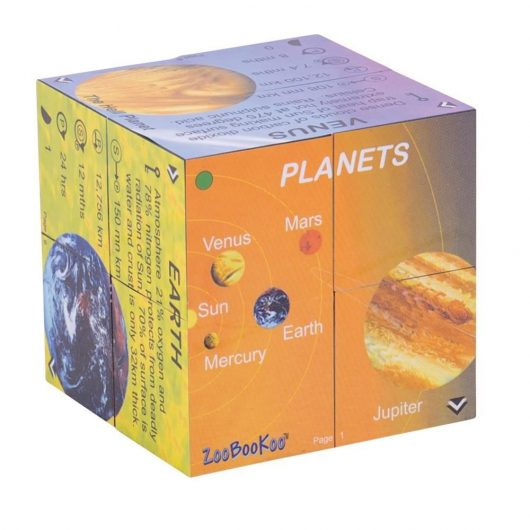 Planets and Solar System Cube Book