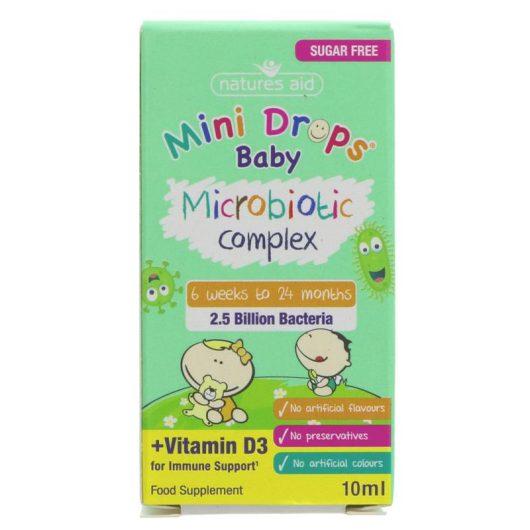 Mini Drops Baby Microbiotic drops
